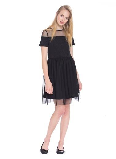 LC WAIKIKI Işıltılı Tül Elbise